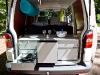 Küchenzeile im VW-Bus